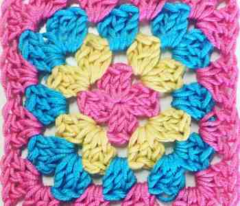crochet granny square day