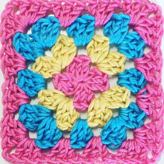 crochet granny square day