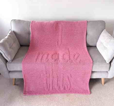I Made This Blanket by DoraDoes