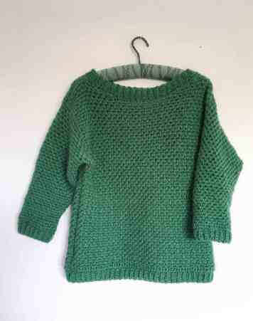 Upsidedown Crochet Sweater 8