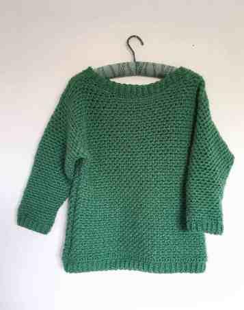 Upsidedown Crochet Sweater 8