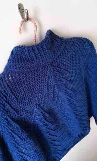 The Falling Pines Crochet Poncho by DoraDoes.co.uk