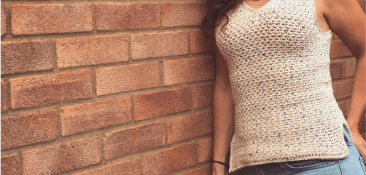Crochet cotton top pattern