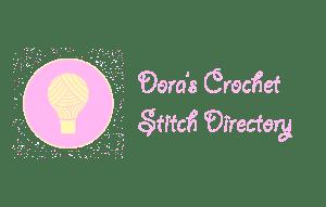 crochet stitch directory with yarn lightbulb