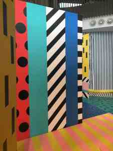 colour stripes and mirrors from camille wall x play