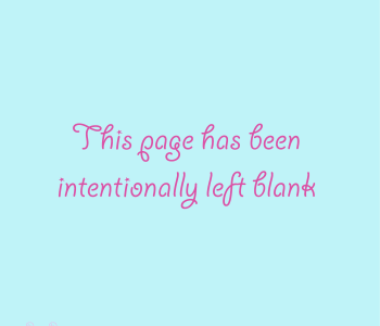 this page has been intentionally left blank