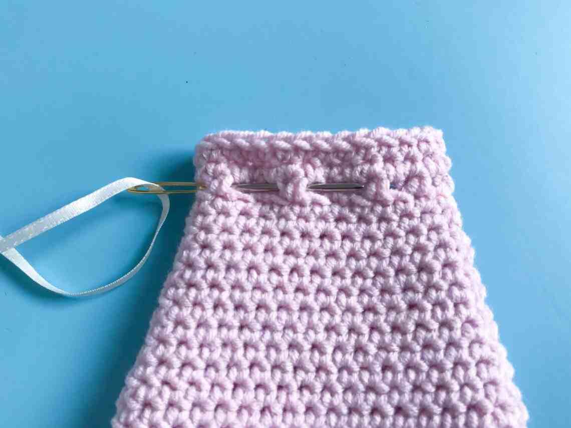 Crochet Favour Bag tutorial