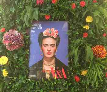 Frieda Kahlo at the V and A