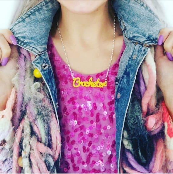 crocheter necklace
