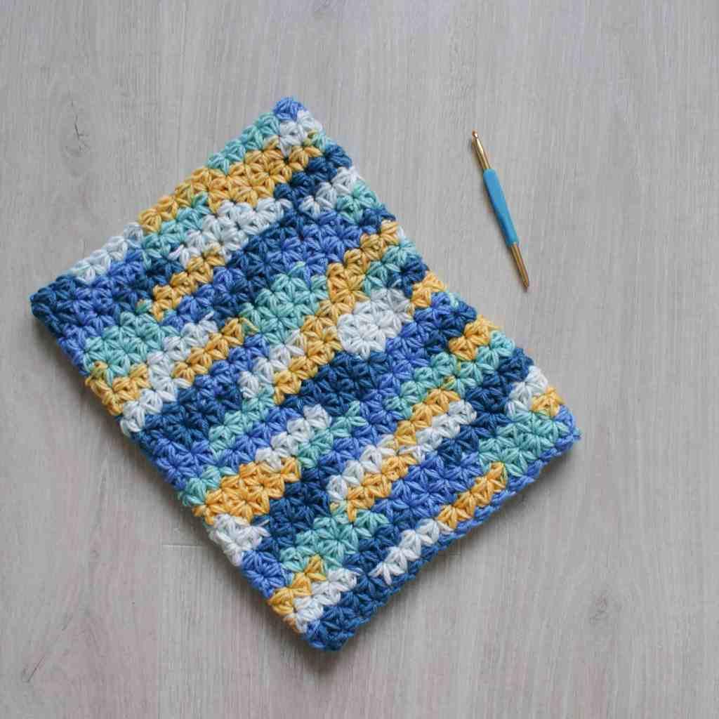 Jasmine Stitch Crochet Snood