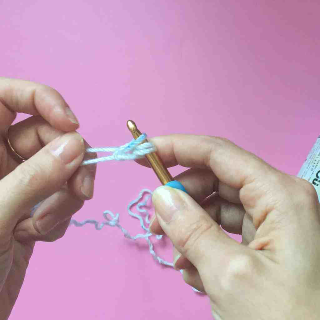 Jasmine Stitch crochet tutorial step
