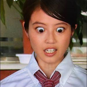 今田美桜の本当にあった怖い話での目がでかい画像