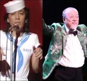 沢田研二の現在の太った画像と若い頃のイケメン画像の比較