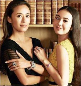 エレナアレジ後藤と母親の後藤久美子の画像