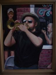 "Mardi Gras, 2016, oil on canvas, 30""' x 40"""