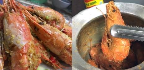 新北中和新鮮泰國蝦 | CP值超高的【中和活蝦之家】 首推烤蝦 胡椒蝦 香蒜蝦
