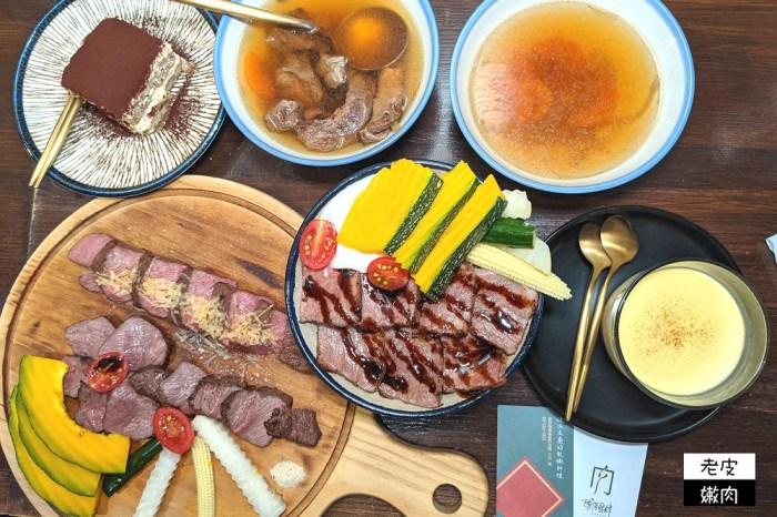 新竹東門市場排隊美食 | 【硬派主廚的軟嫩料理】價格親民 250元就可以吃很飽的牛排飯