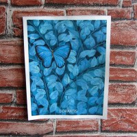 Blue Butterfly for Aga