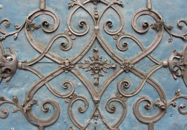 door ornament, door detail, Wrocław