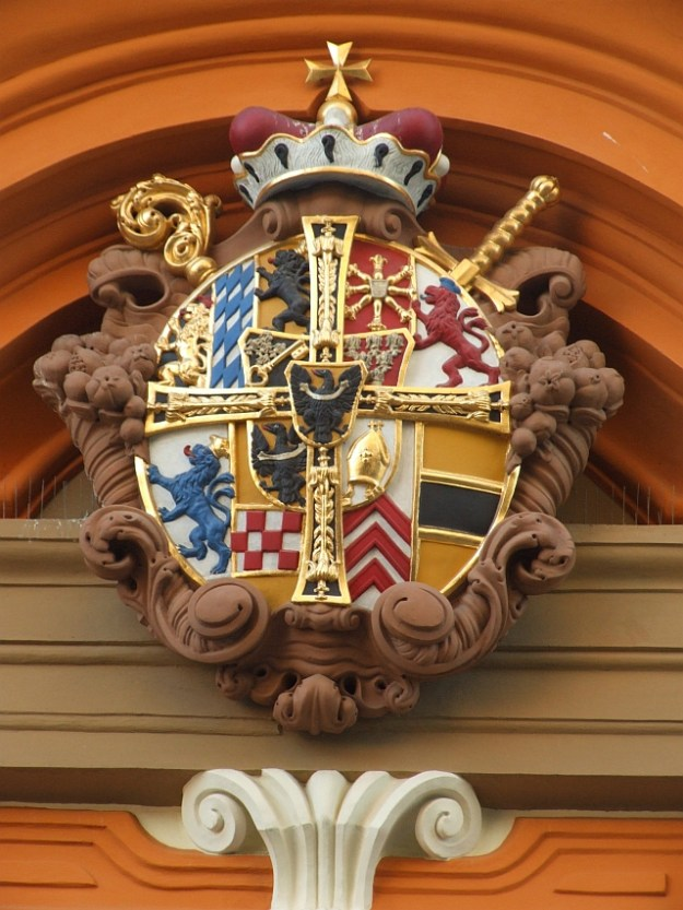 Coat of arms in Wrocław