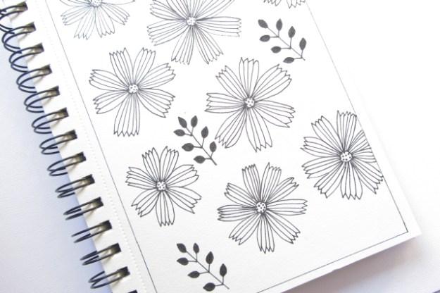 Simple flowers - Dorartis