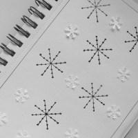 Simple Stars - Christmas Pattern 2