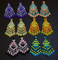 Seed Bead Earrings and Canes: Making Small Designs with a ...