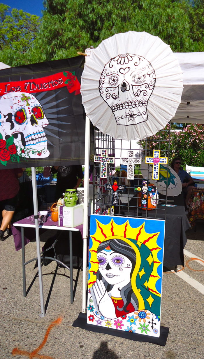 """There's a Day of the Dead festival in Oceanside every year, and no, it's not a convention of the Walking Dead or related to Halloween at all, as you might think. The Day of the Dead is a Mexican celebration of life and a mocking of death. Aztec beliefs fused with that of their conquerors have made this day one full of symbolism, both pagan and Catholic at the same time. It is shouting in death's face: """"You might have taken our loves ones, but they are not forgotten."""" And so we celebrate, dance, make altars for the departed, eat, and rejoice in the triumph over death brought by the Resurrection of Jesus Christ."""