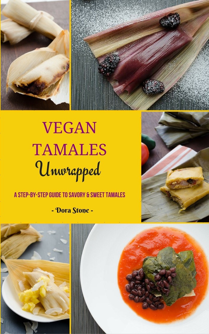 These vegan chocolate tamales are perfect for when the cold starts creeping in and we yearn for nice mug of hot chocolate and a tamal.