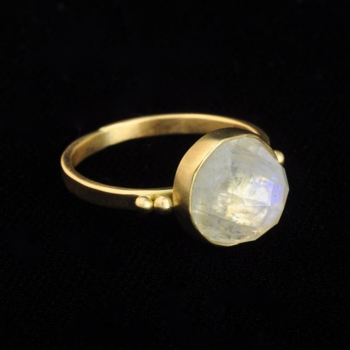 Moonstone Dome Ring1