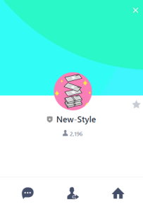 New-Style LINE