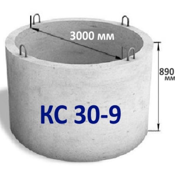 Бетонное кольцо колодца кс 30-9 в Минске