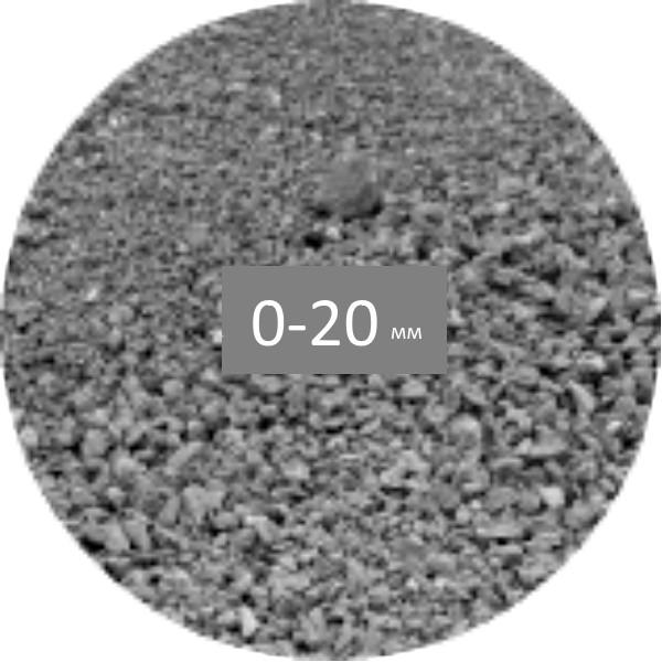 Щебень из бетона купить объем цементного раствора 1 3