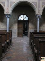 Interior - intrare in Sinagoga neologa