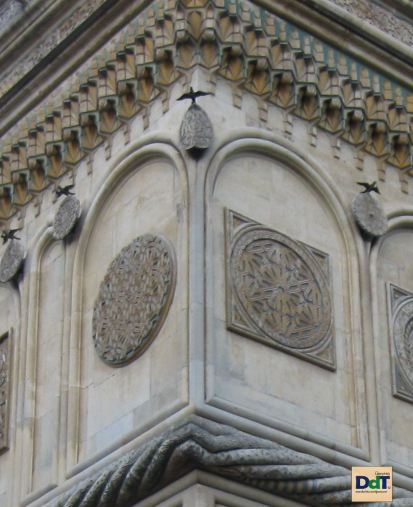 Manastirea Curtea de Arges - detaliu arhitectural