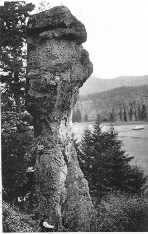 Chimney rock 1909