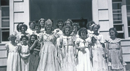 dorena school may day 1948