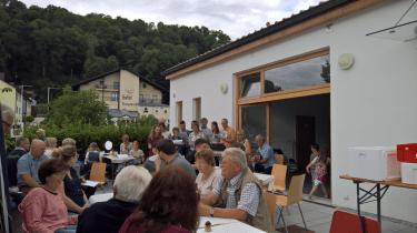 Gründungsfeier der Dorfgemeinschaft Natternberg