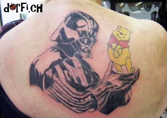 Cooles Tattoo.