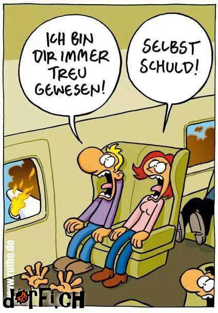 selbst schuld