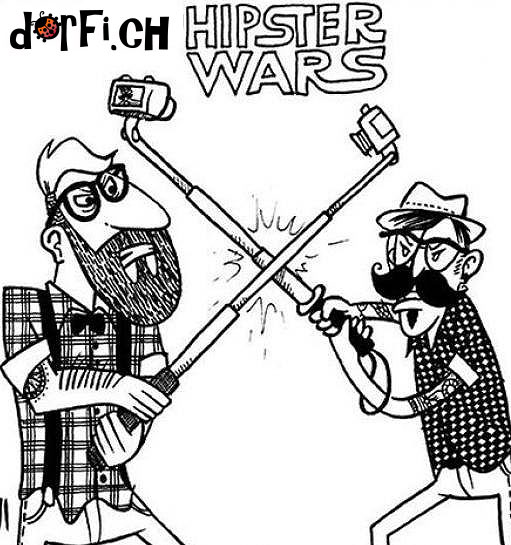 Hipsters wars.