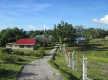 Die Hauptverkehrsader der kleinen Insel