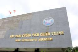Das Museum über den Vietnamkrieg
