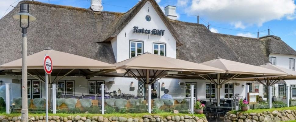 Meissl Schirme Dorfkrug Kampen Bar & Grill Terasse