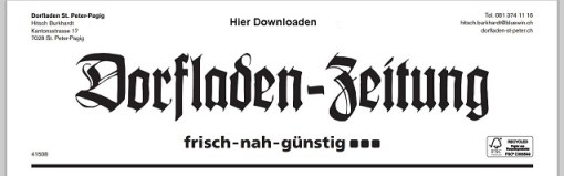 Dorfladenzeitung