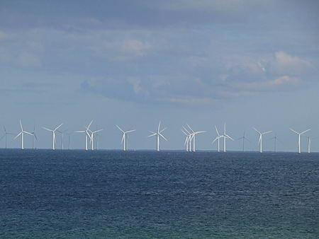 Windpark vor Kopenhagen