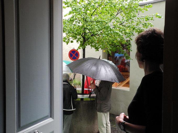 Blick aus dem Fridrich zu Liberatango. Foto: KTraintinger, Dorfzeitung
