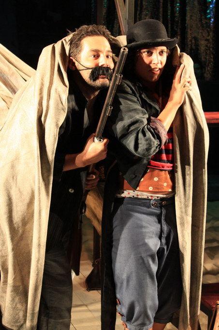 Benjamin Plautz (Zampano), Katharina Pizzera (Gelsomina)