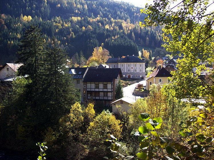Blick auf Schloss Wintergrün