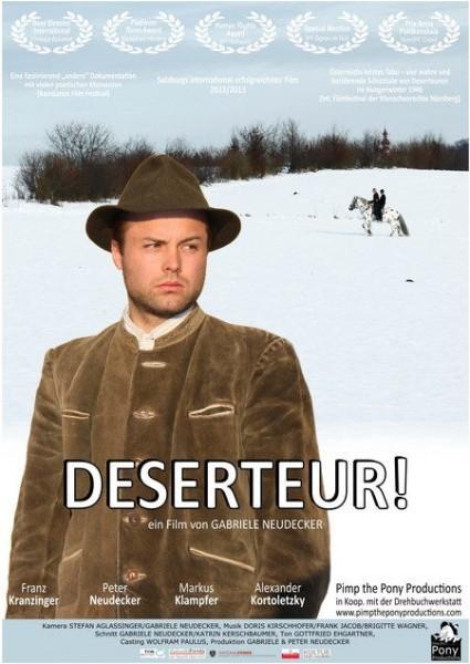 Deserteur Filmplakat_2015k